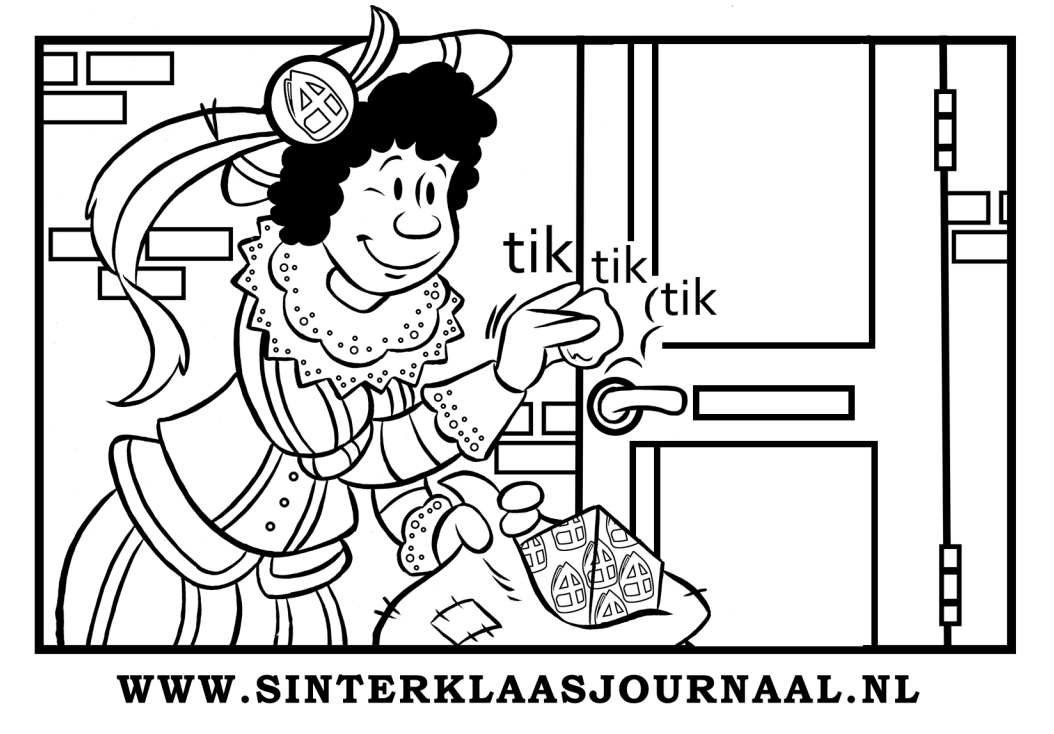 kleurplaat sinterklaasjournaal 2015 1